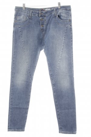Please Boyfriendjeans hellblau Washed-Optik