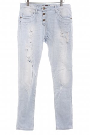 Please Boyfriendjeans himmelblau Casual-Look