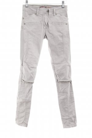Please Cargohose hellgrau Casual-Look