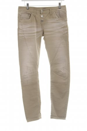 Please Chinohose nude-creme Casual-Look
