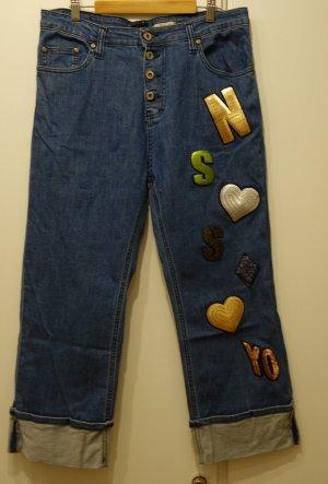 Please cropped Jeans made in Italy Gr. M (38/40) Kult Street Wear