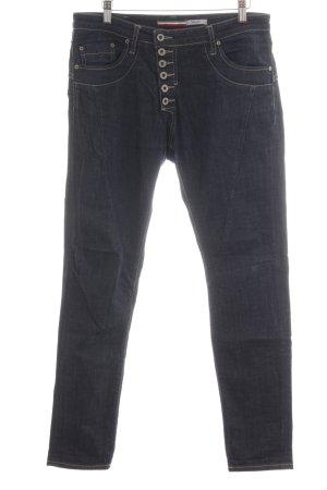 PLEASE Denim Slim Jeans blau Casual-Look