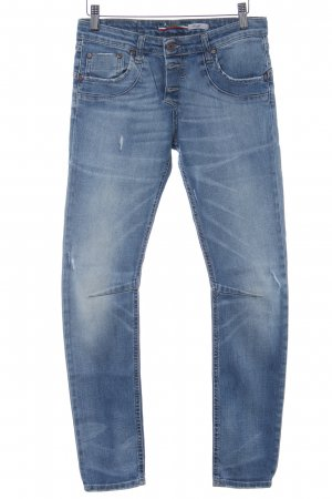 PLEASE Denim Slim Jeans himmelblau Casual-Look