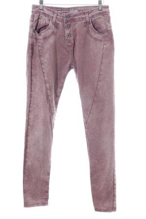 Please Five-Pocket-Hose pink-lila Casual-Look