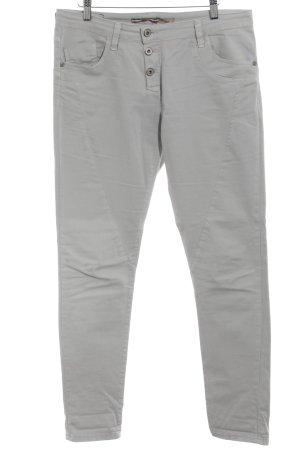 Please Pantalone cinque tasche grigio chiaro stile casual