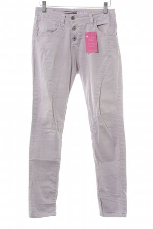 Please Pantalone cinque tasche malva stile casual
