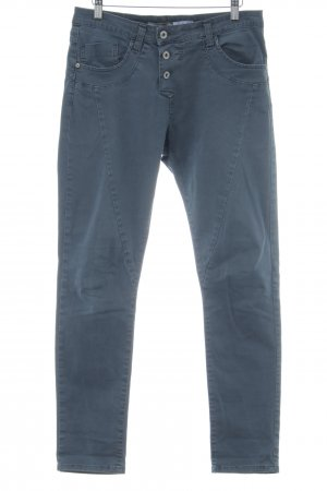 Please Five-Pocket-Hose blau Casual-Look