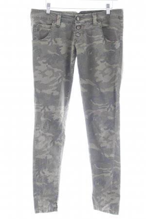 Please Five-Pocket-Hose Camouflagemuster Military-Look