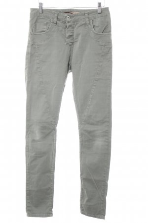 Please Pantalone cinque tasche cachi stile casual