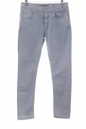 Please High-Waist Hose himmelblau Casual-Look