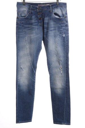 Please High Waist Jeans blau Casual-Look