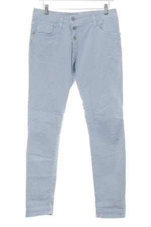 Please High Waist Jeans himmelblau klassischer Stil