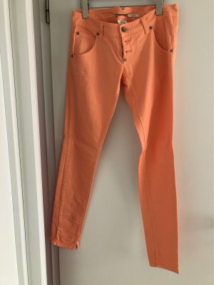 Please Low-Rise Trousers apricot