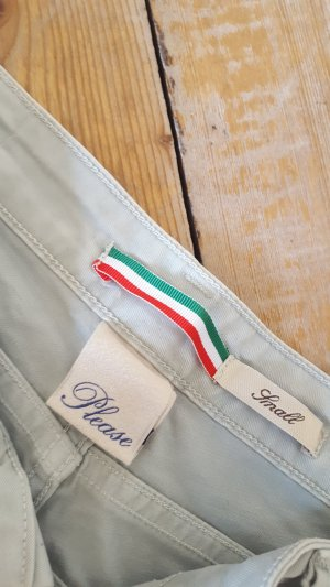 Please Chinos sage green-pale green