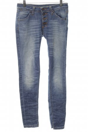 Please Low Rise jeans blauw casual uitstraling