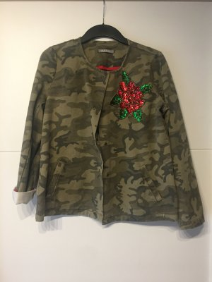 Please Italy Camouflage Jacke S
