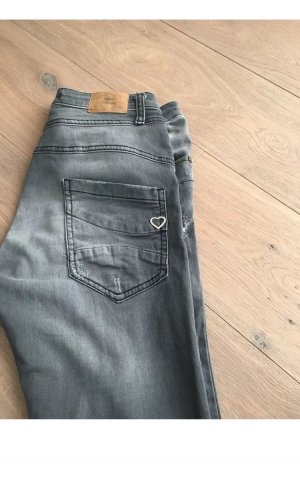 Please Boyfriend Jeans black-grey