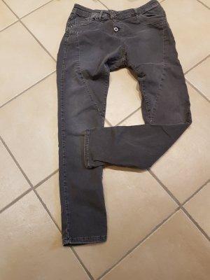Please Jeans Dunkel Grau in Gr.  S