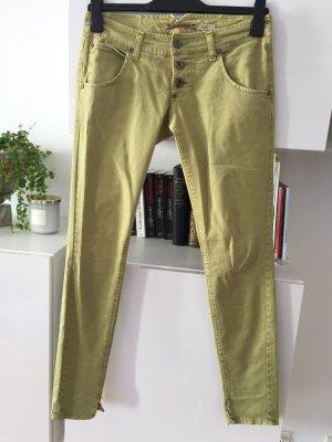 Please Jeans Gr S erbsengrün super Zustand