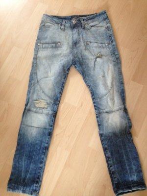 Please Jeans Gr. XS blau