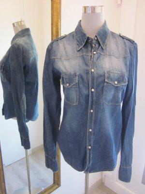 Please Jeans Hemd Gr 40/42
