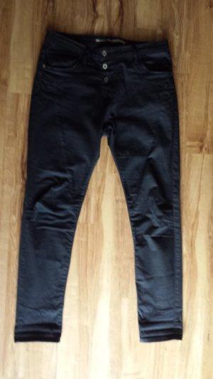 Please Slim jeans zwart