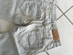Please 7/8-jeans lichtgrijs