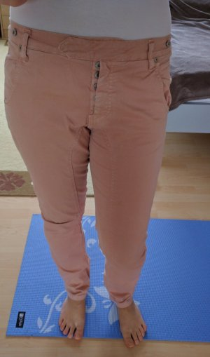 Please-Jeans in apricot