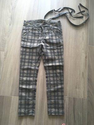 Please Boyfriend Jeans multicolored cotton