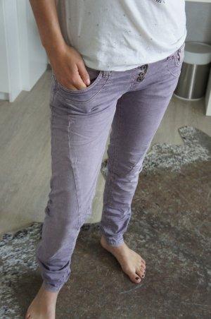 Please Boot Cut Jeans purple
