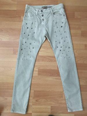 PLEASE Jeans mit Sternen Gr. XS