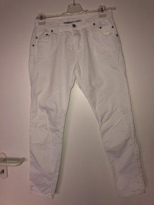 PLEASE Denim Boyfriend Jeans white
