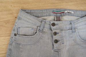 Please Jeans PLE-14-9361 XS grau/creme