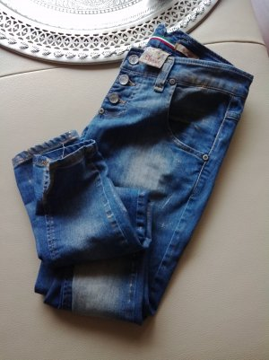 Please Jeans skinny gr.XS gold finnish