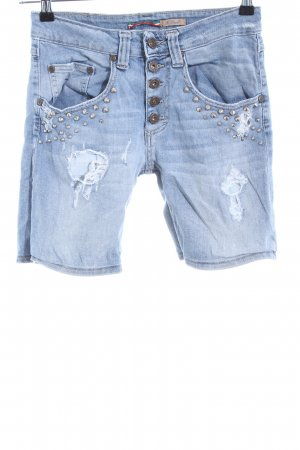 Please Jeansshorts blau Casual-Look