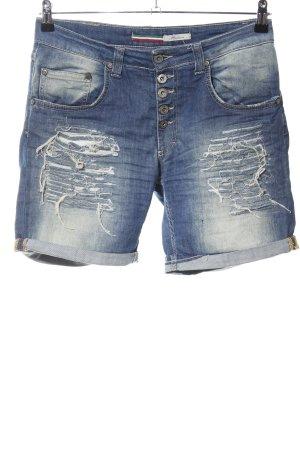 Please Jeansshorts blau Casual-Look