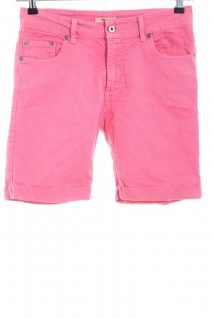 Please Jeansshorts pink Casual-Look