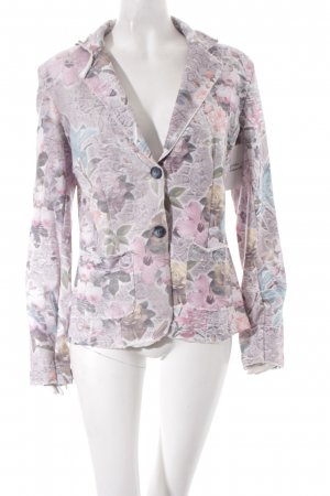 Please Jerseyblazer Blumenmuster Romantik-Look