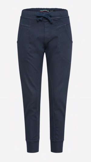 Please Boyfriend Trousers dark blue