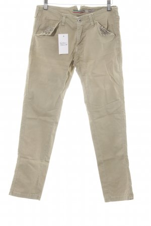 Please Khakihose sandbraun Casual-Look