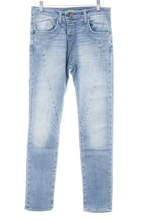 Please Now Jeans larghi azzurro stile casual