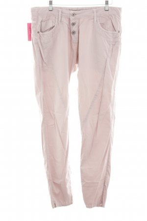 Please Now Five-Pocket Trousers pink casual look