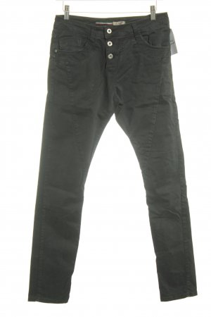 Please Now High Waist Jeans schwarz Casual-Look