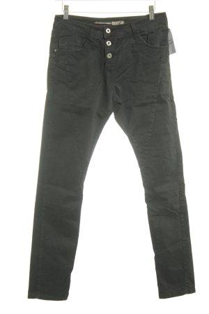 Please Now High Waist Jeans schwarz Casual-Look