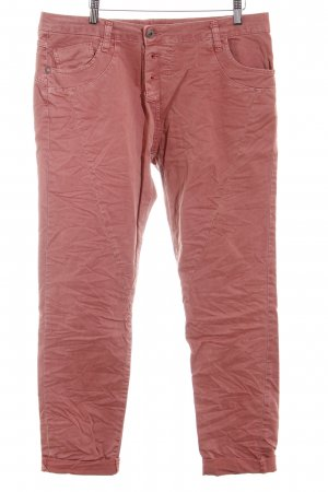 Please Now Low-Rise Trousers apricot casual look