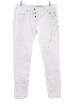 Please Now Low Rise Jeans natural white Logo application