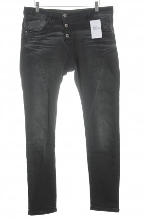 Please Now Slim jeans donkergrijs casual uitstraling