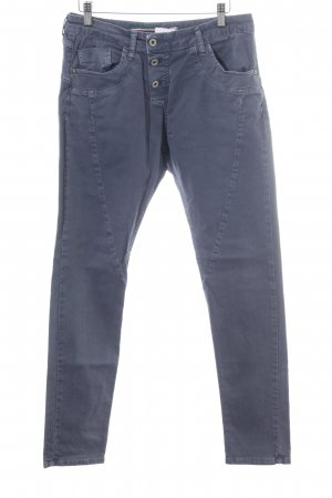 Please Now Slim Jeans graublau Casual-Look