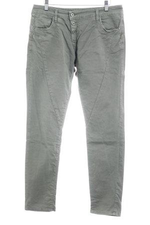 Please Now Slim Jeans khaki Casual-Look