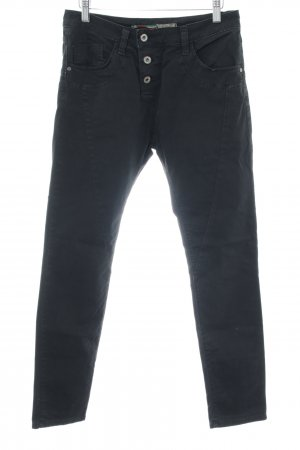 Please Now Slim Jeans schwarz Casual-Look